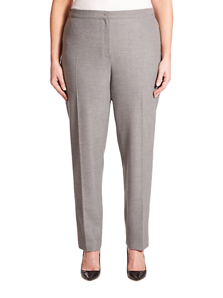MARINA RINALDI Women/'s Ritmo Cropped Dress Pants $275 NWT