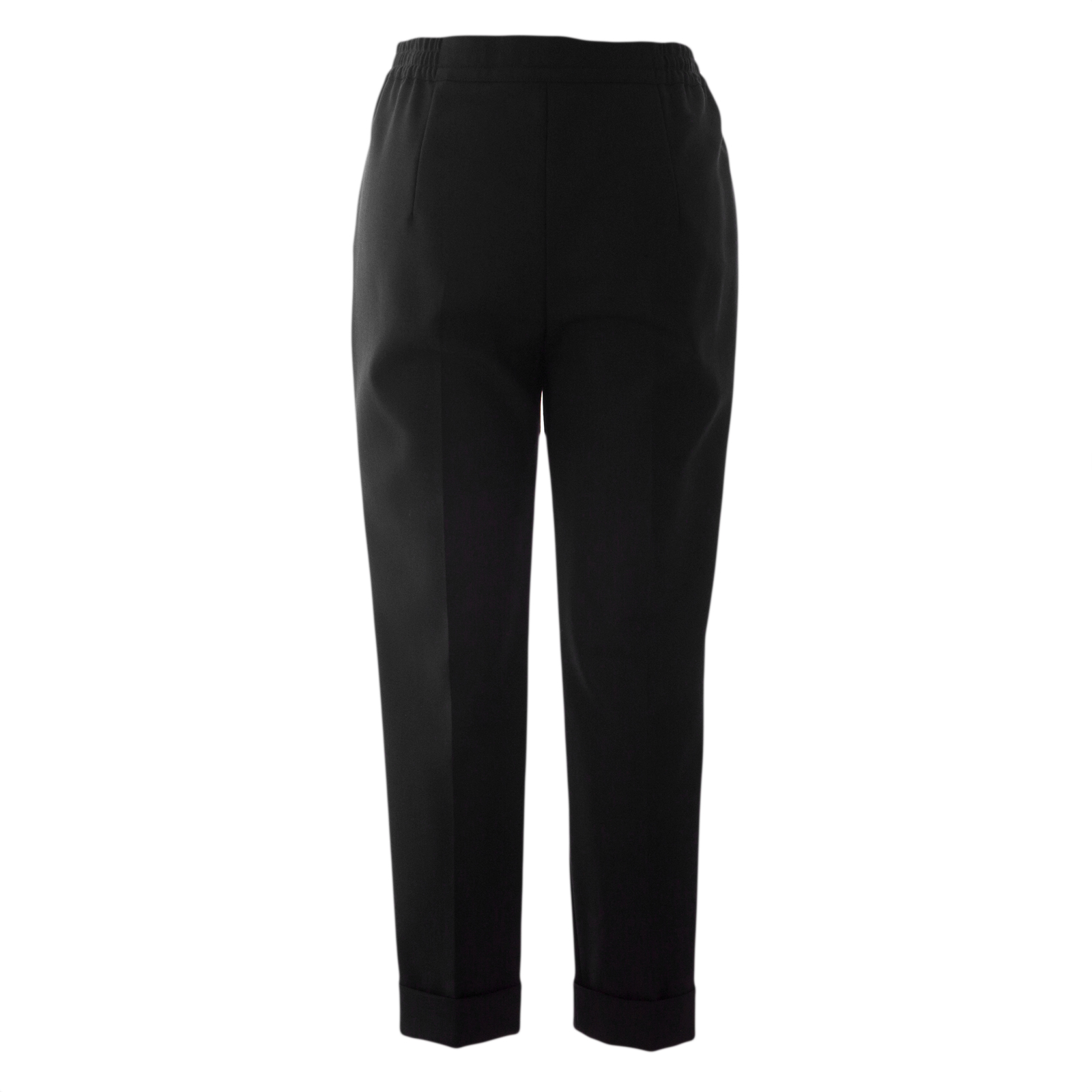 MAX MARA Women/'s Mabel Relaxed Fit Stretch-Wool Pants $545 NWT