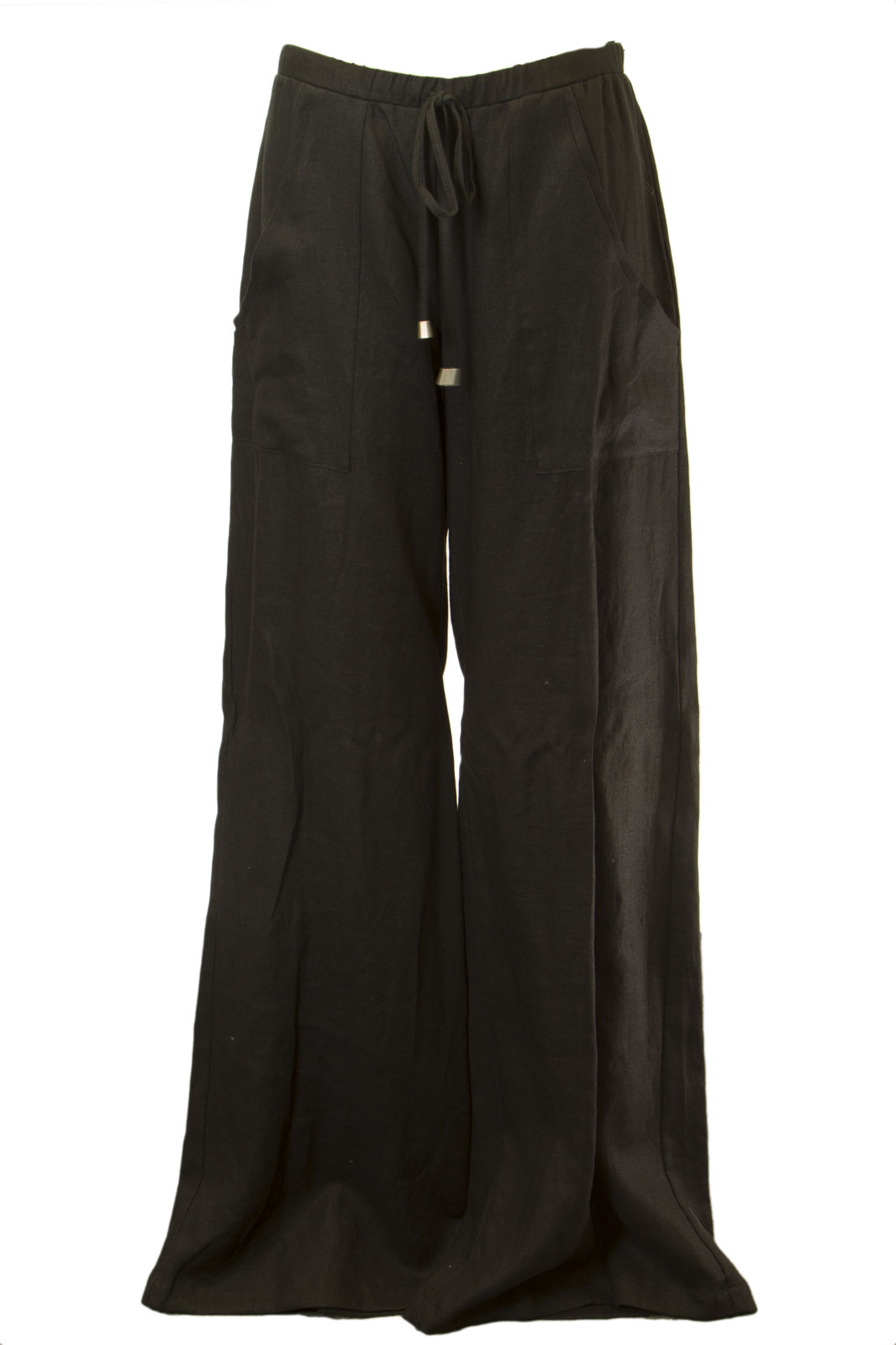 ANALILI Women/'s Linen Wide Lounge Pants 212J18 $155 NWT