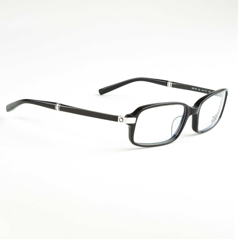 Eyeglass Frames Rectangular : Montblanc Rectangular Eyeglass Frames 54mm MB103 NEW eBay