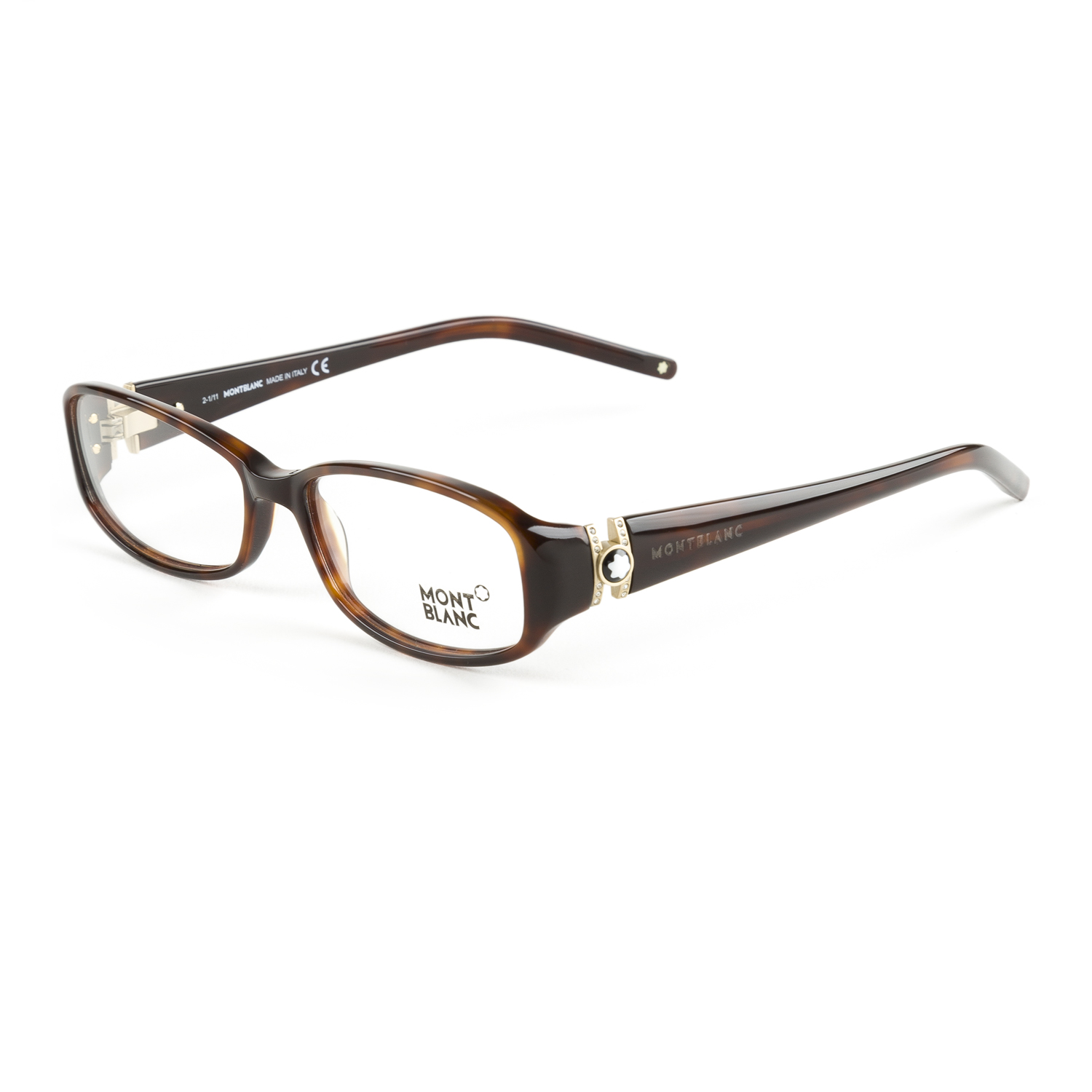 Montblanc Rectangular Eyeglass Frames 54mm MB343 NEW