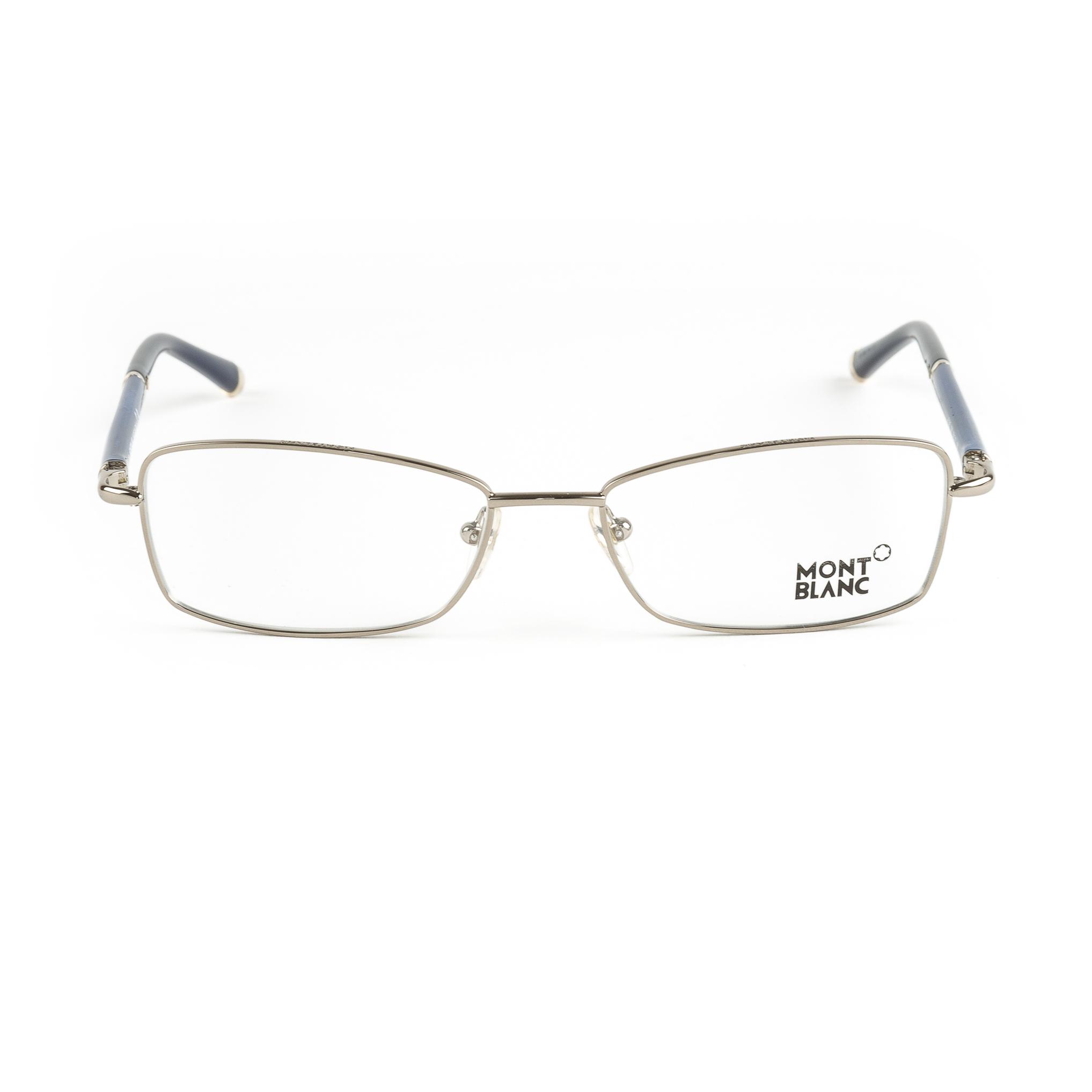 Eyeglass Frames Rectangular : Montblanc Rectangular Eyeglass Frames 54mm MB345 NEW eBay