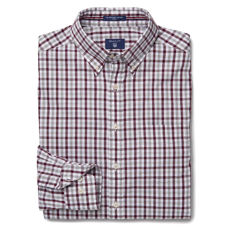 ennakkotilaus Aika siistiä luotettava laatu Details about GANT Men's Slim Fit Oxford Check Shirt 303268 $99 NWT