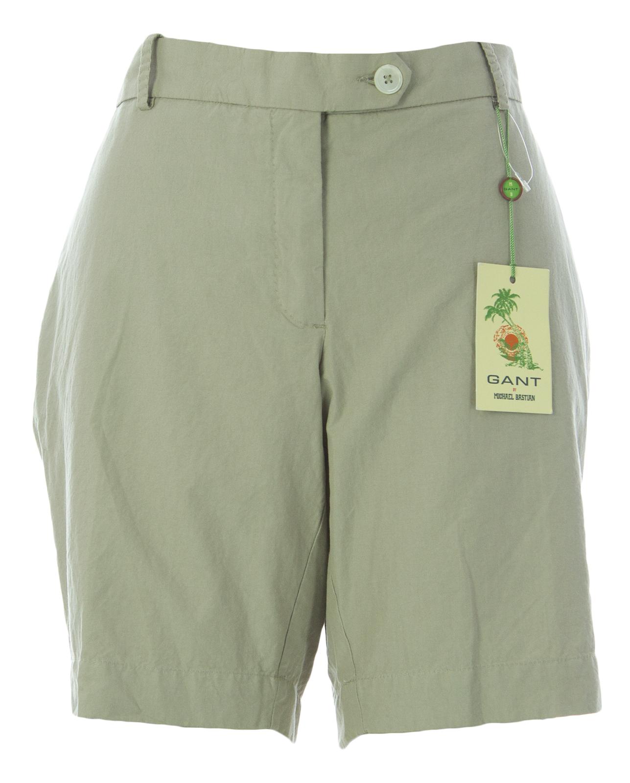 GANT Women's Sandy Beige Cotton MB Boy Shorts 420209 $245 NEW