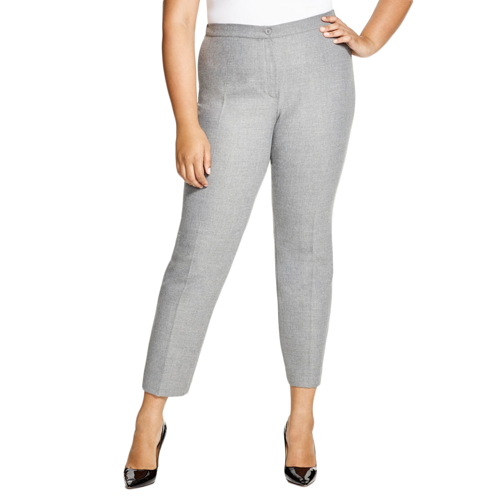 5c6d0a815ad Marina Rinaldi Women's RITMO Cropped Dress Pants 20w / 29 Grey. About this  product. Picture 1 of 3; Picture 2 of 3 ...