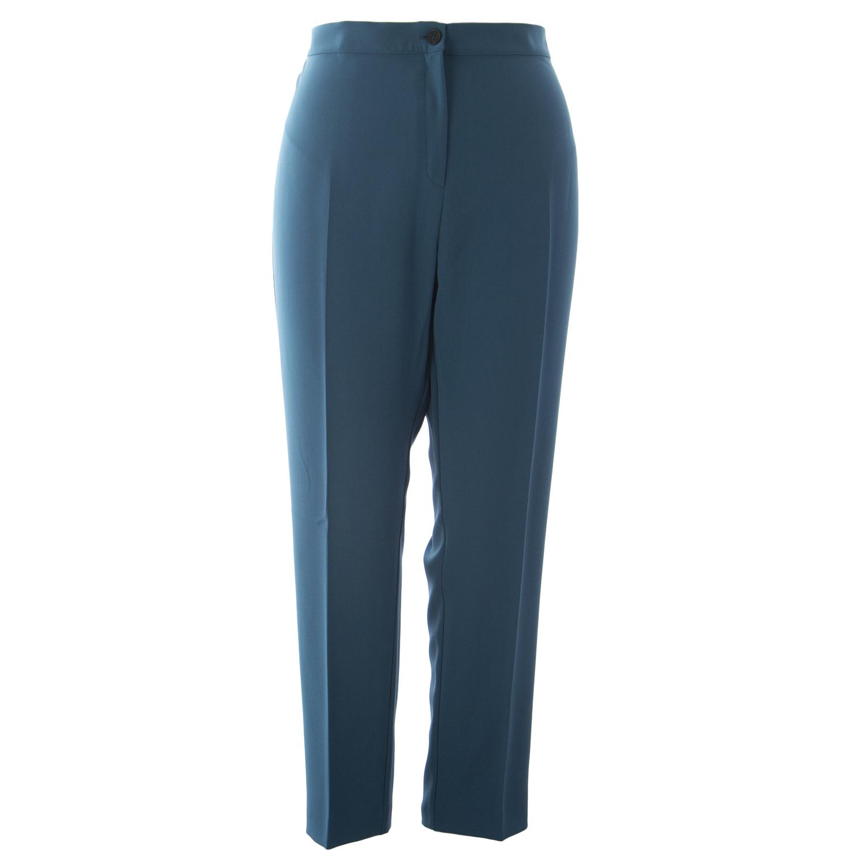 bf9d28505bc MARINA RINALDI Women's Teal Regime Dress Pants 20W / 29 $345 NWT