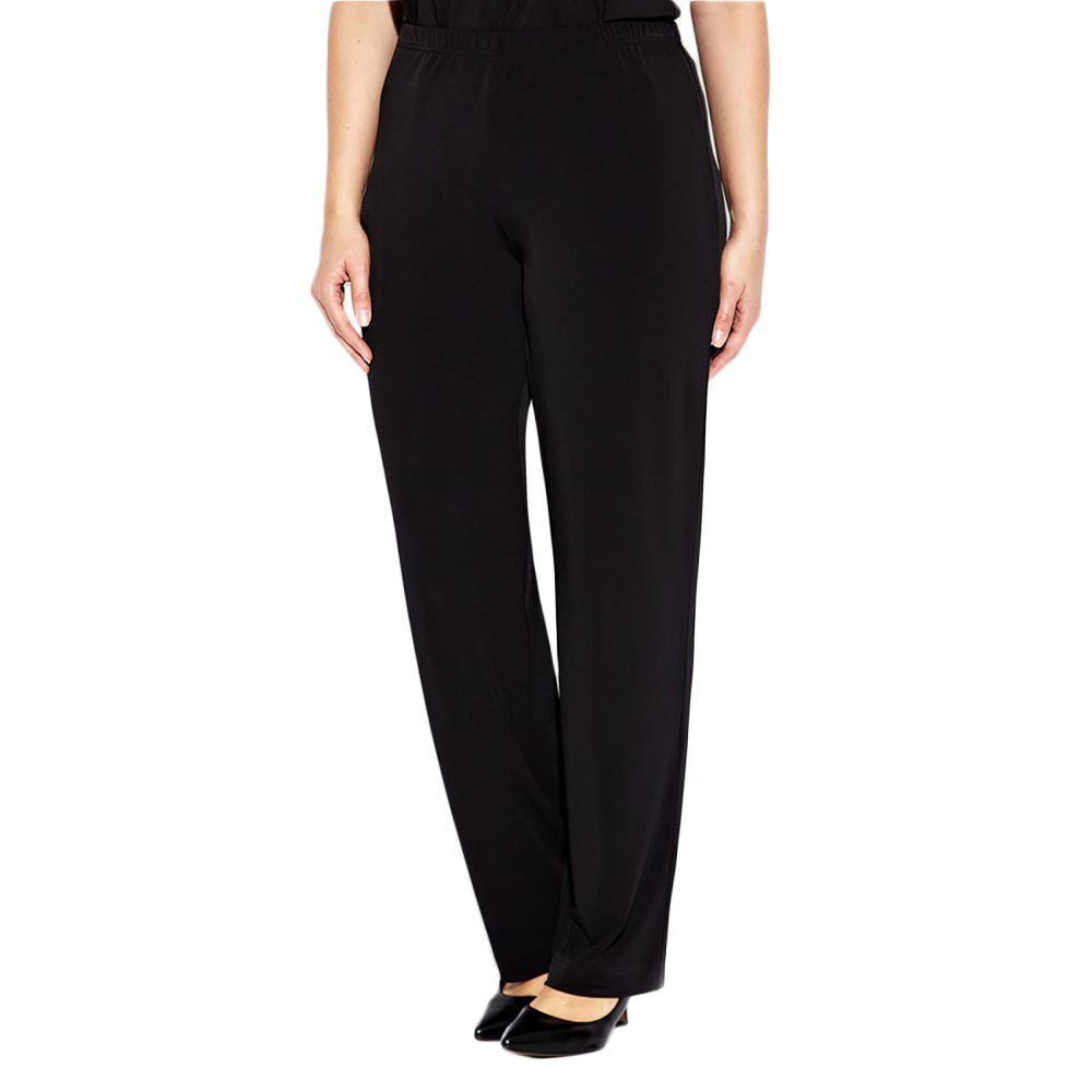 MARINA RINALDI Women/'s Rumore High-Waisted Dress Pants $285 NWT