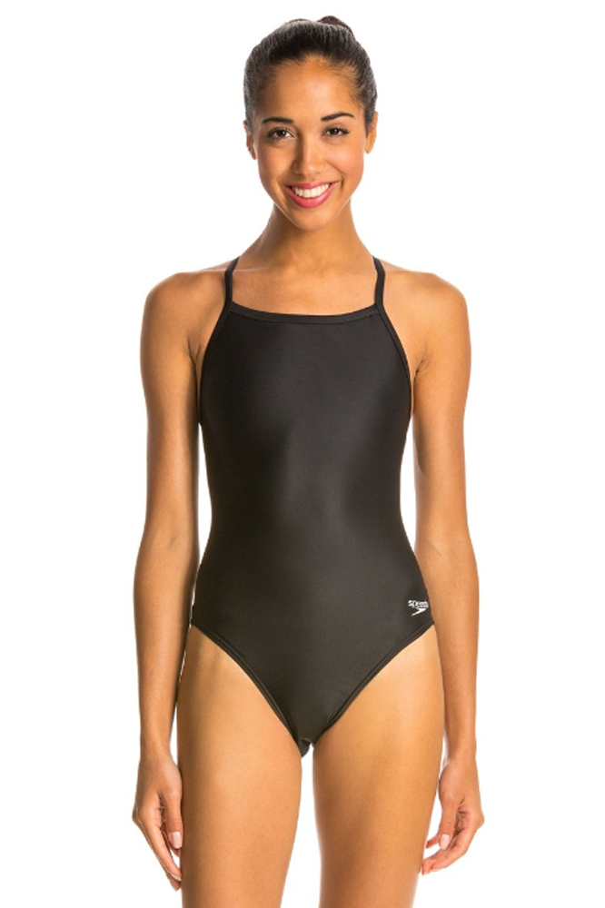 Speedo Boom ALOV TKI Femme Af Beachwear Tankinis-Noir Violet Royal Toutes Tailles