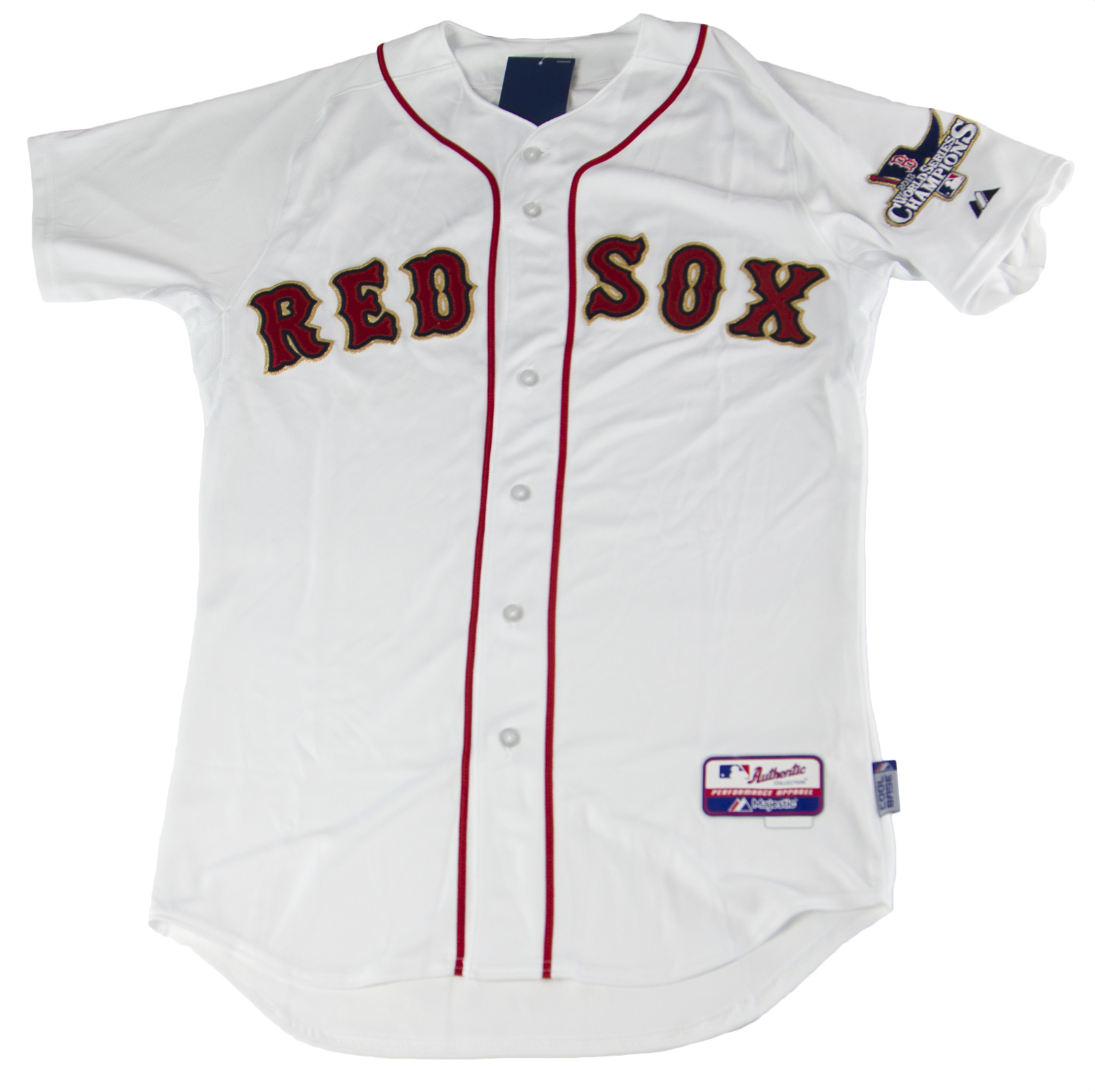 c1f234b02f6 MAJESTIC Men s White Boston Red Sox Cool Base Home Jersey BQ6300 Sz 52  219  NEW