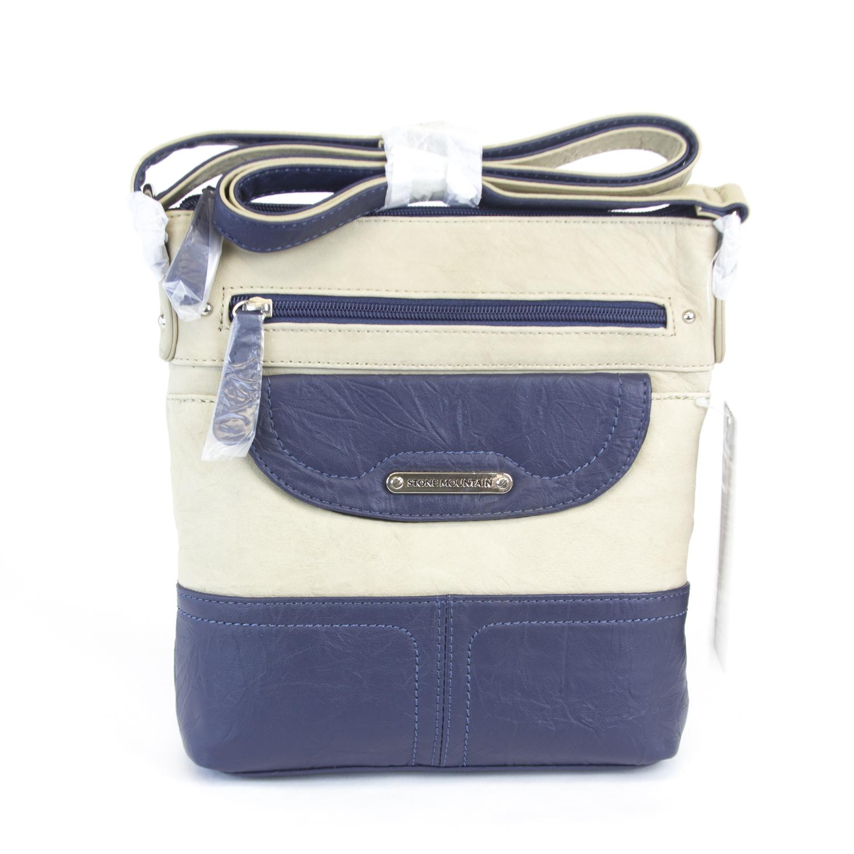 0b7b251810 STONE MOUNTAIN Ona Crossbody Handbag 9AF6641  169 NWT