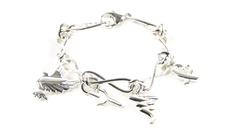 Details zu Tiffany & Co.Damen Paloma Picasso Sterling Silber Bettelarmband Neu