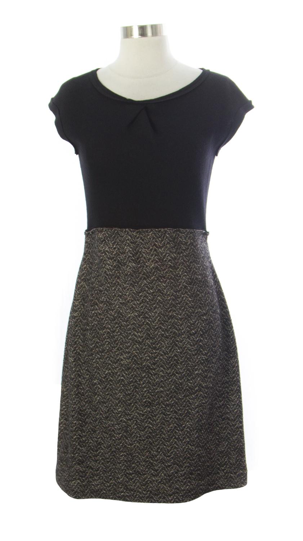 Bimba Damen Casual Floral Digital bedruckt lange braune Maxi Designer-Kleid