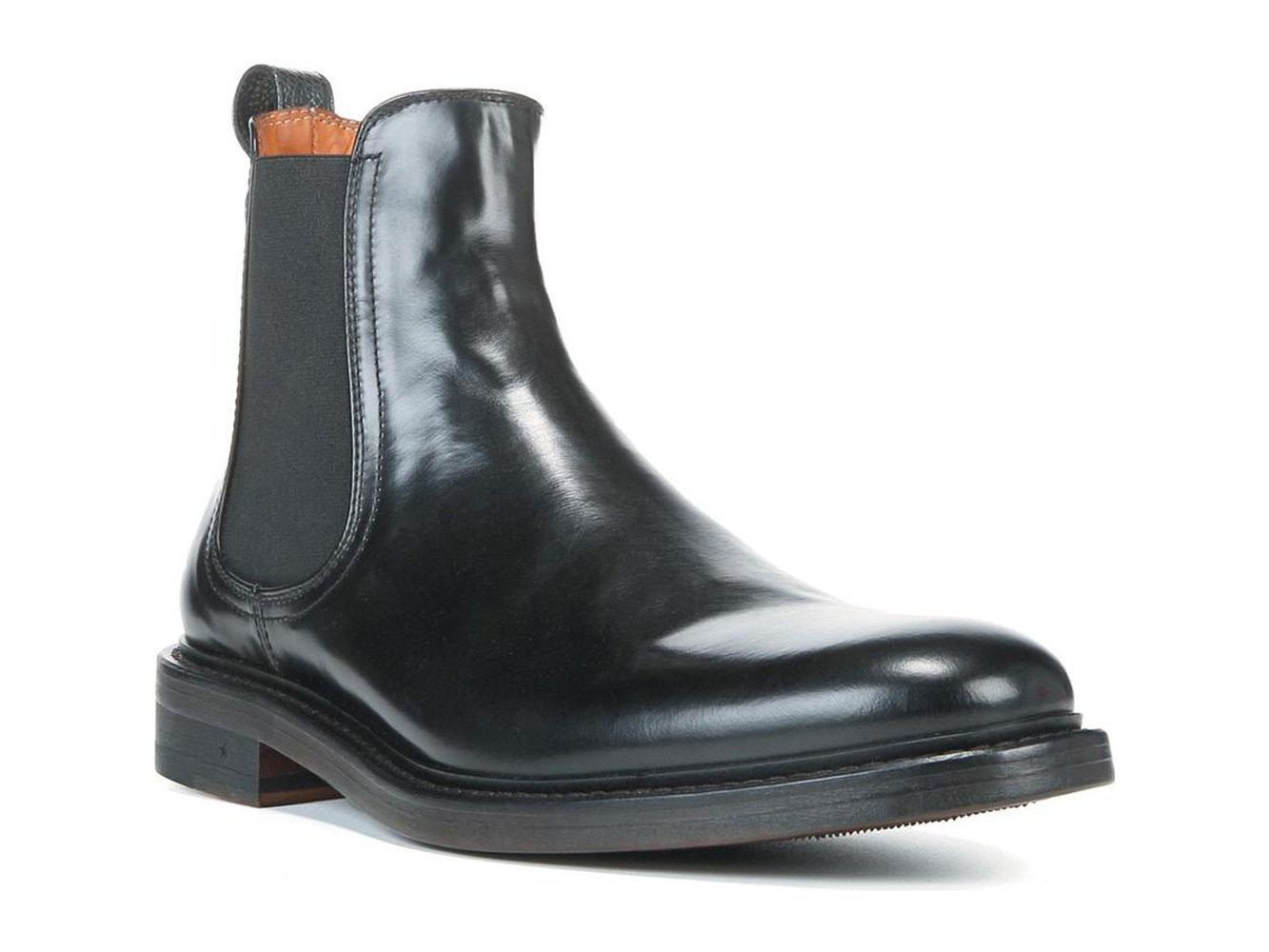 3d8a50055805 Details about GEORGE BROWN BILT Men's Black Fulton Chelsea Leather Boots Sz  10.5 $395 NEW