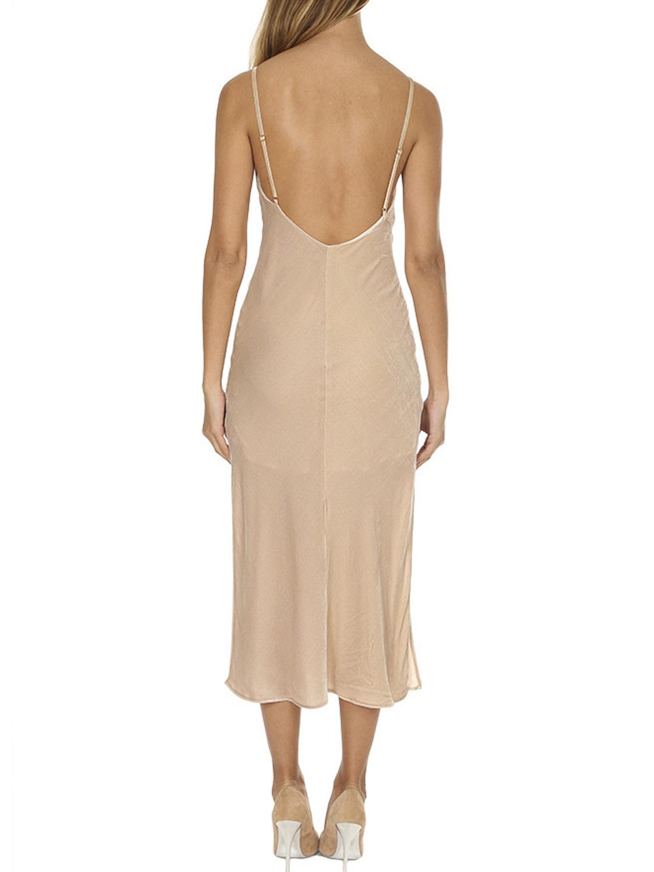 bef8b04b8e013 LOVESHACKFANCY Women's Velvet Kate Slip Dress $345 NWT | eBay