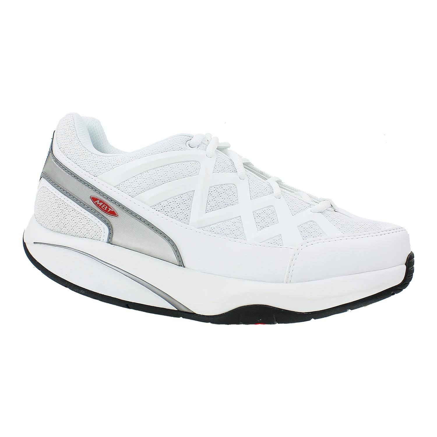 b88e3167a523 MBT Men s White Sport 3 Walking Shoes 400334 EU 40   US 6-6.5  184.95 NWOB
