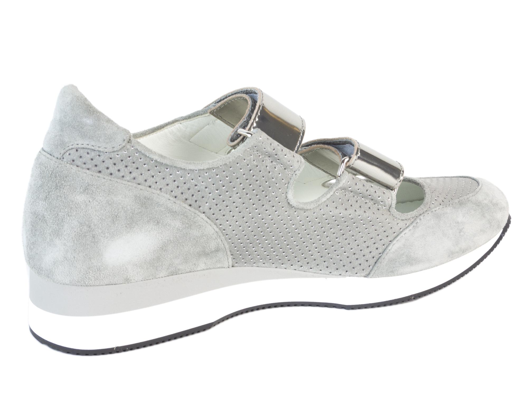 Max Mara Womens Mm34 Leather Velcro Sneakers 495 Nib  Ebay-7130