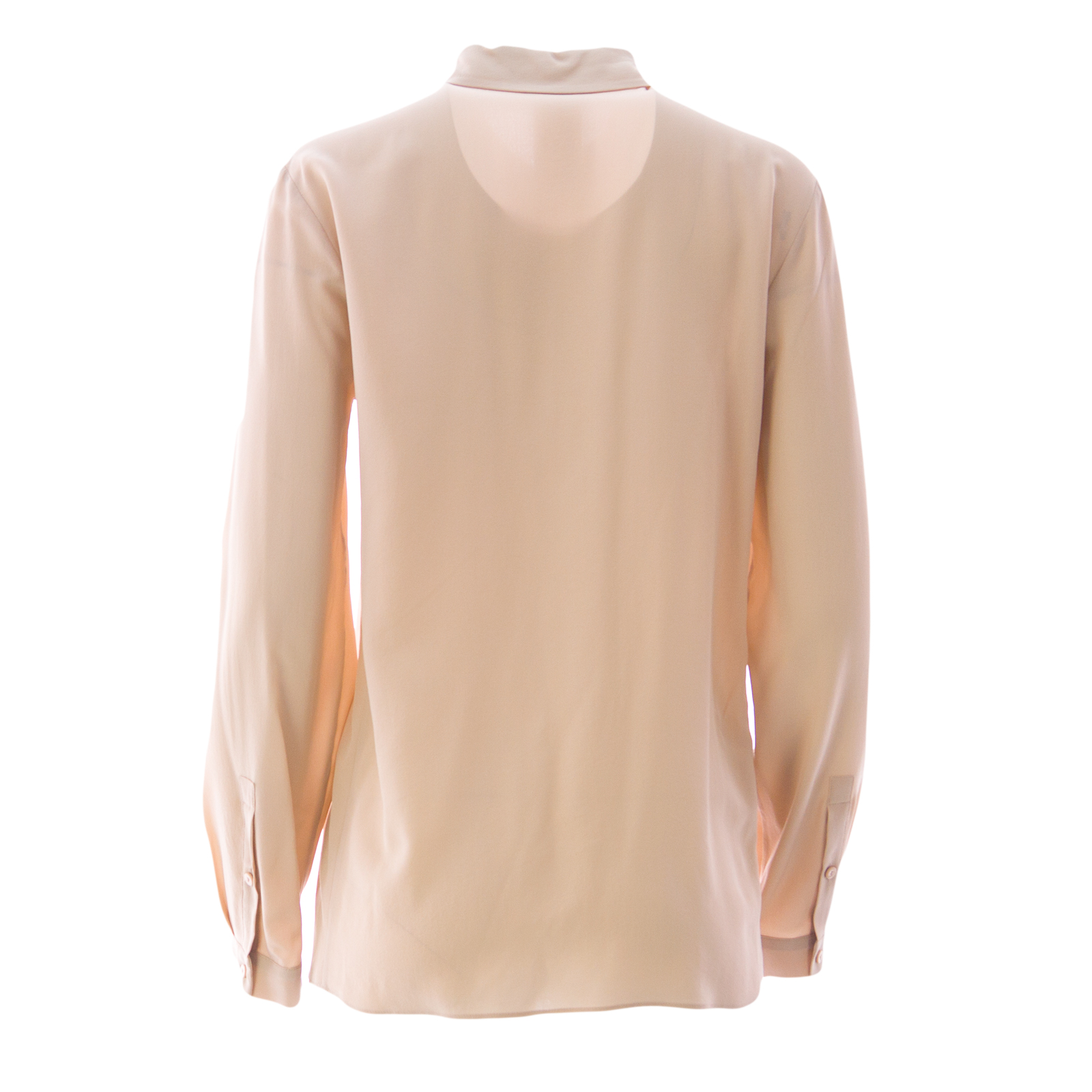S MaxMara Long Sleeve Button-Up Top Supply Sale Online Extremely HQcG8