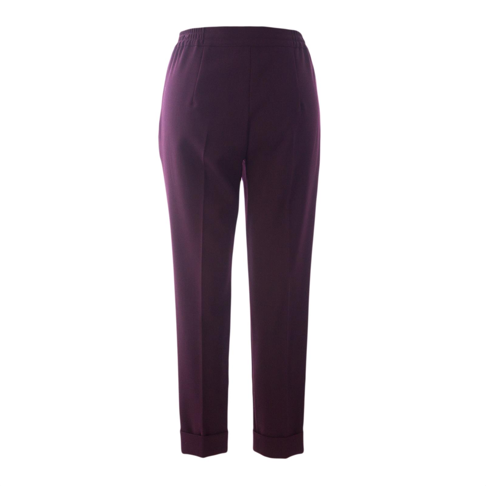 MAX MARA Women/'s Finale Turquoise Floral Silk Drawstring Pants $595 NWT