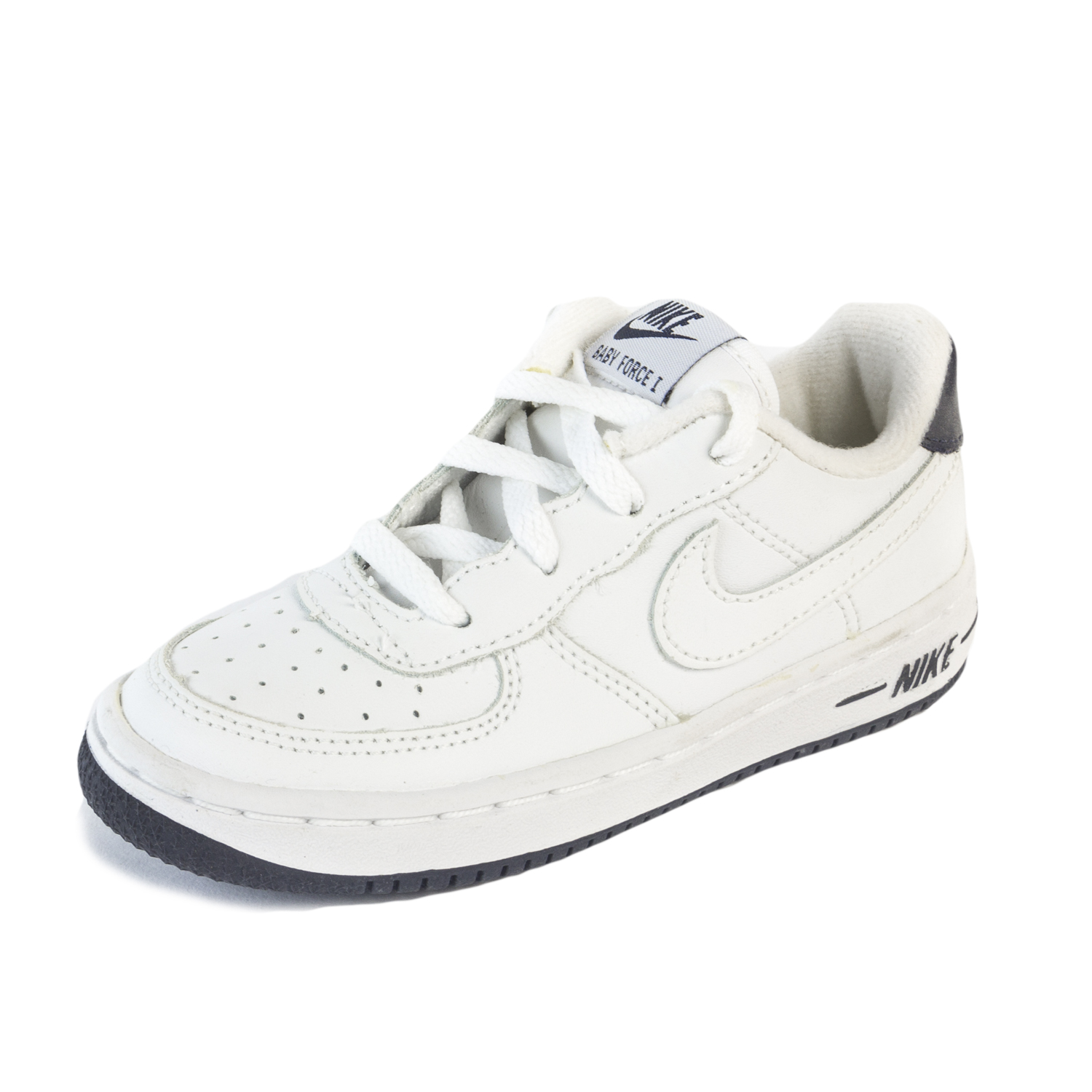 huge selection of ce499 f1865 Details about NIKE Toddler White Obsidian Baby Force 1 Sneakers 624046 Sz  9c  40 NIB