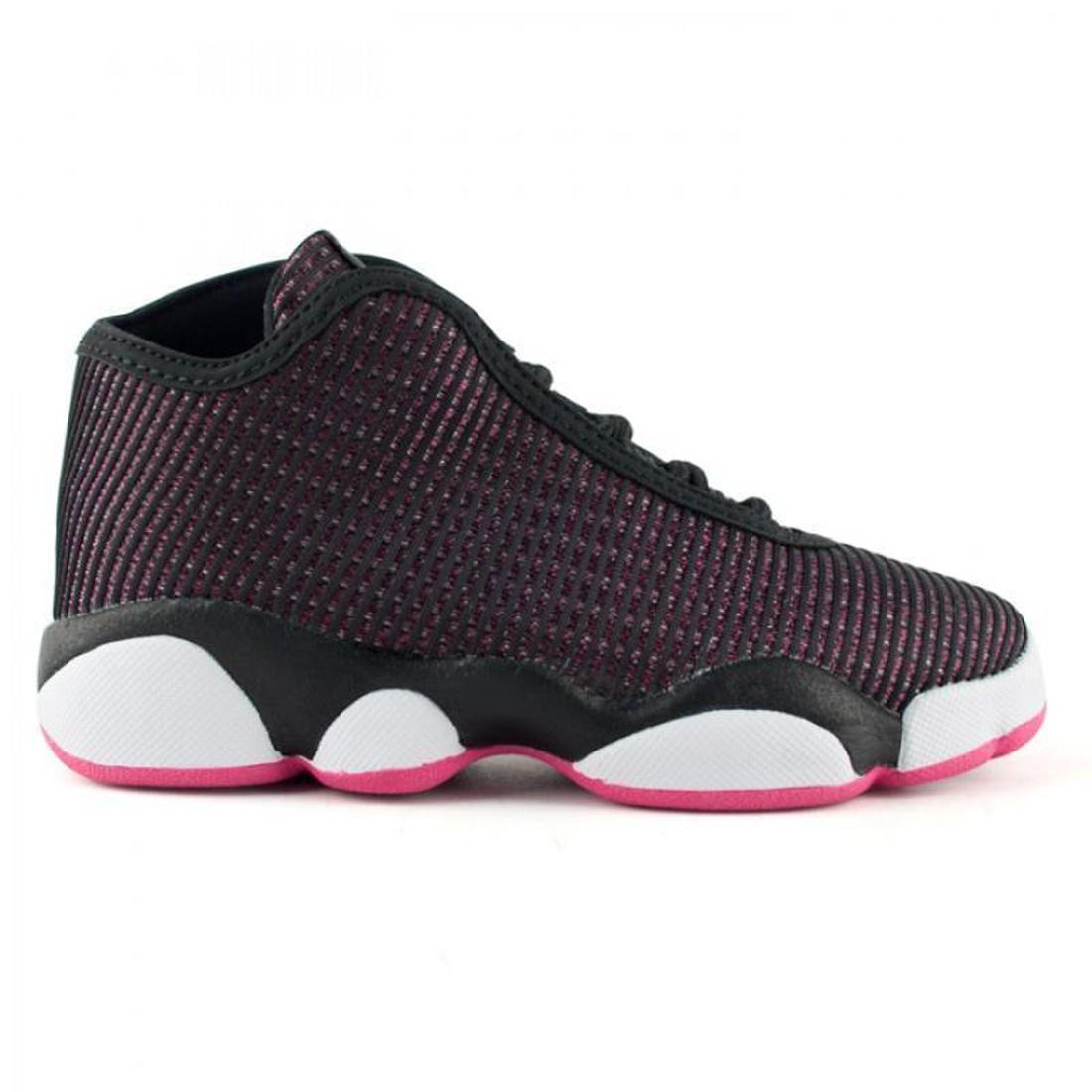 pretty nice 8858f 66ad2 JORDAN Big Kid Girls Black White Pink Horizon Sneakers 819848 Sz 7.5Y  120  NWOB