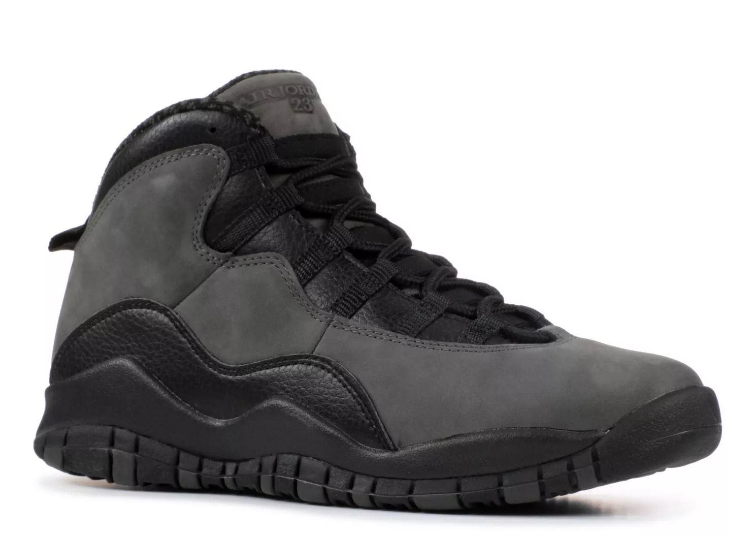 310806-002 Kids Retro Dark Shadow 10 Air Jordan X