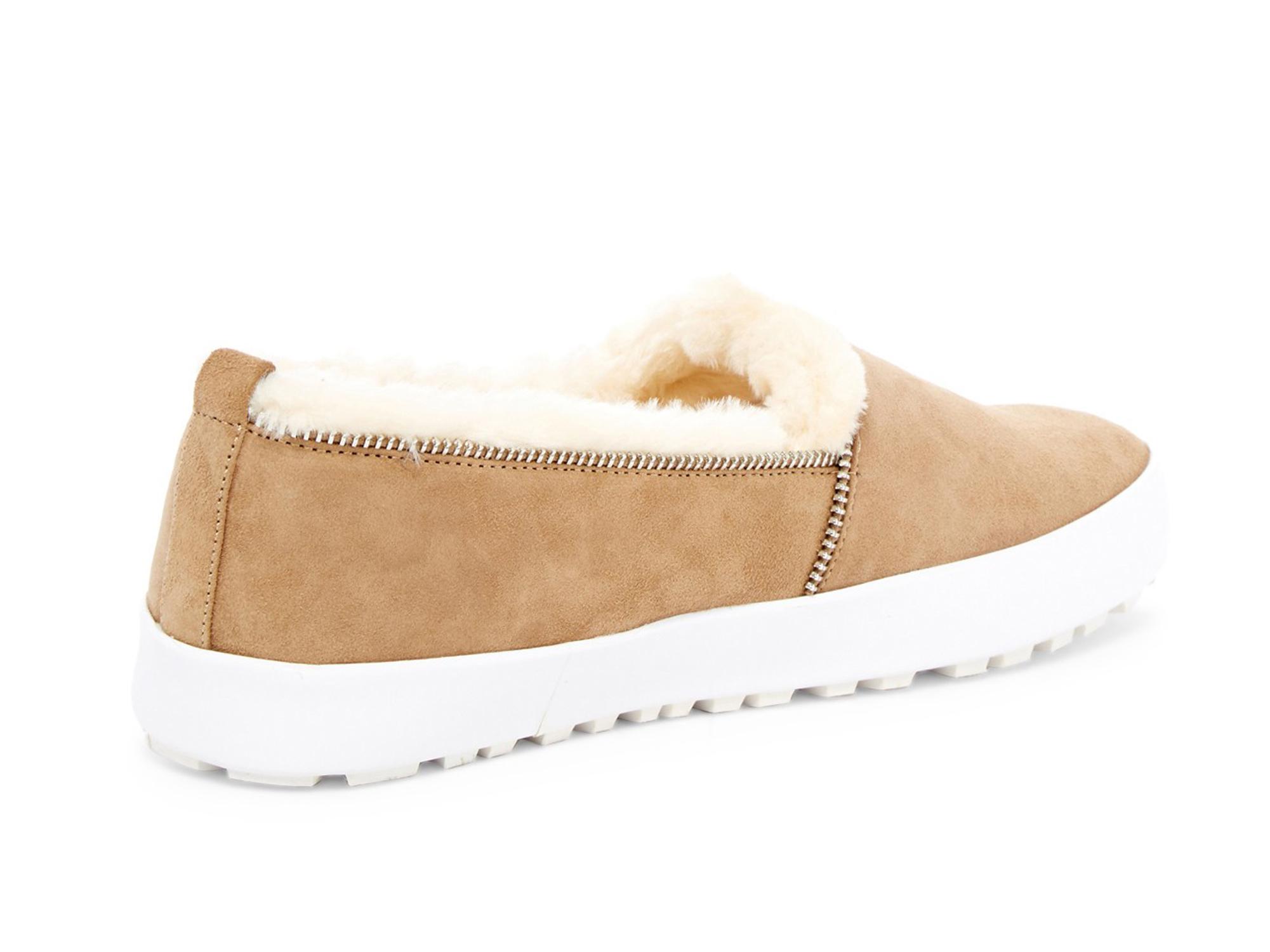 REBECCA-MINKOFF-Women-039-s-Sofia-Black-Suede-Slip-On-Sneakers-175-NIB miniature 6