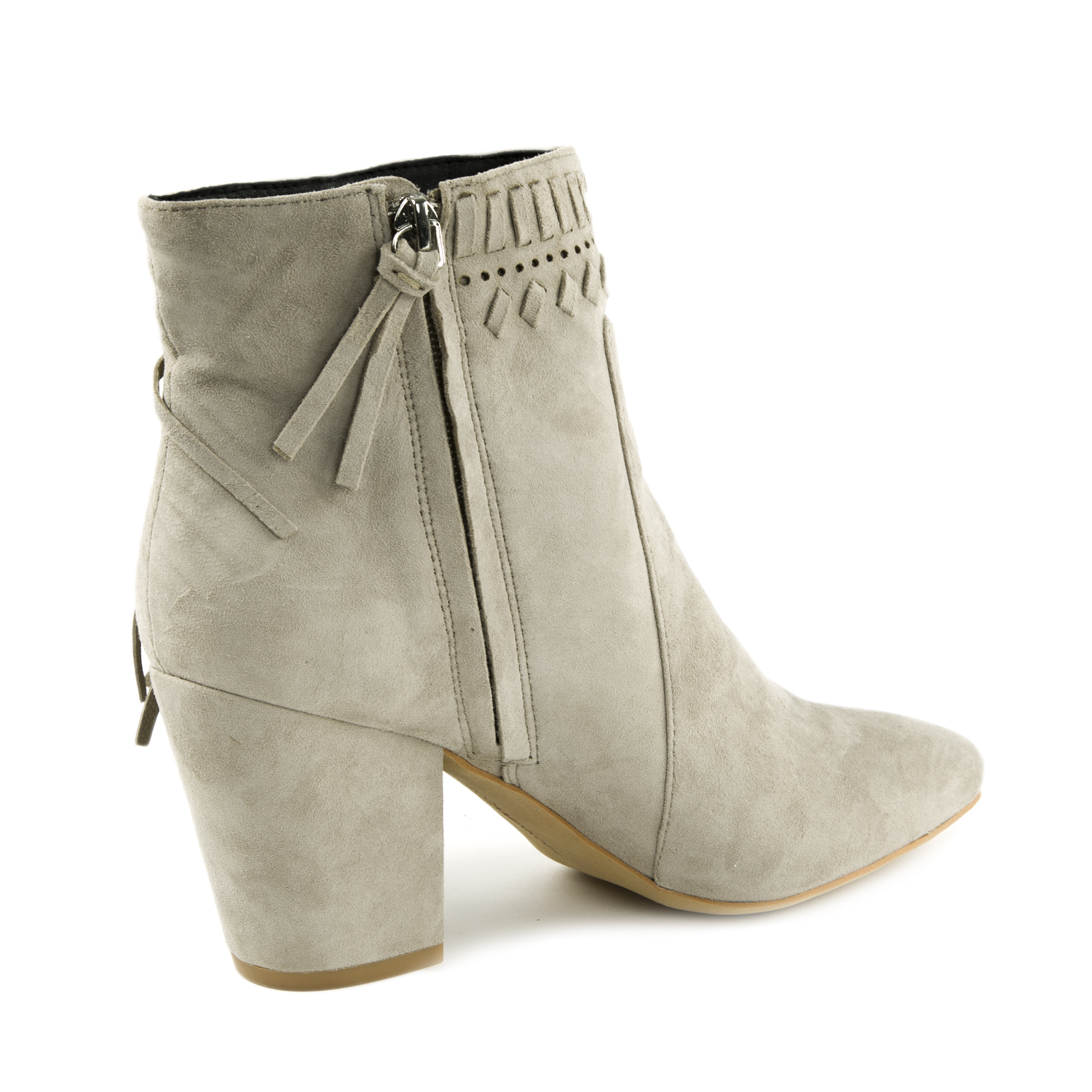 Rebecca Minkoff Suede Fringe Ankle Boots cheap pay with paypal outlet looking for RayispJ