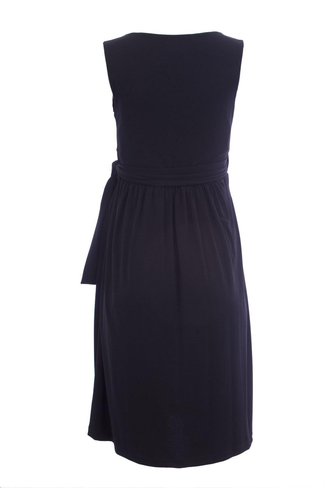 ce59fc39d7e20 OLIAN Maternity Women's Sleeveless Wrap Dress $155 NWT | eBay