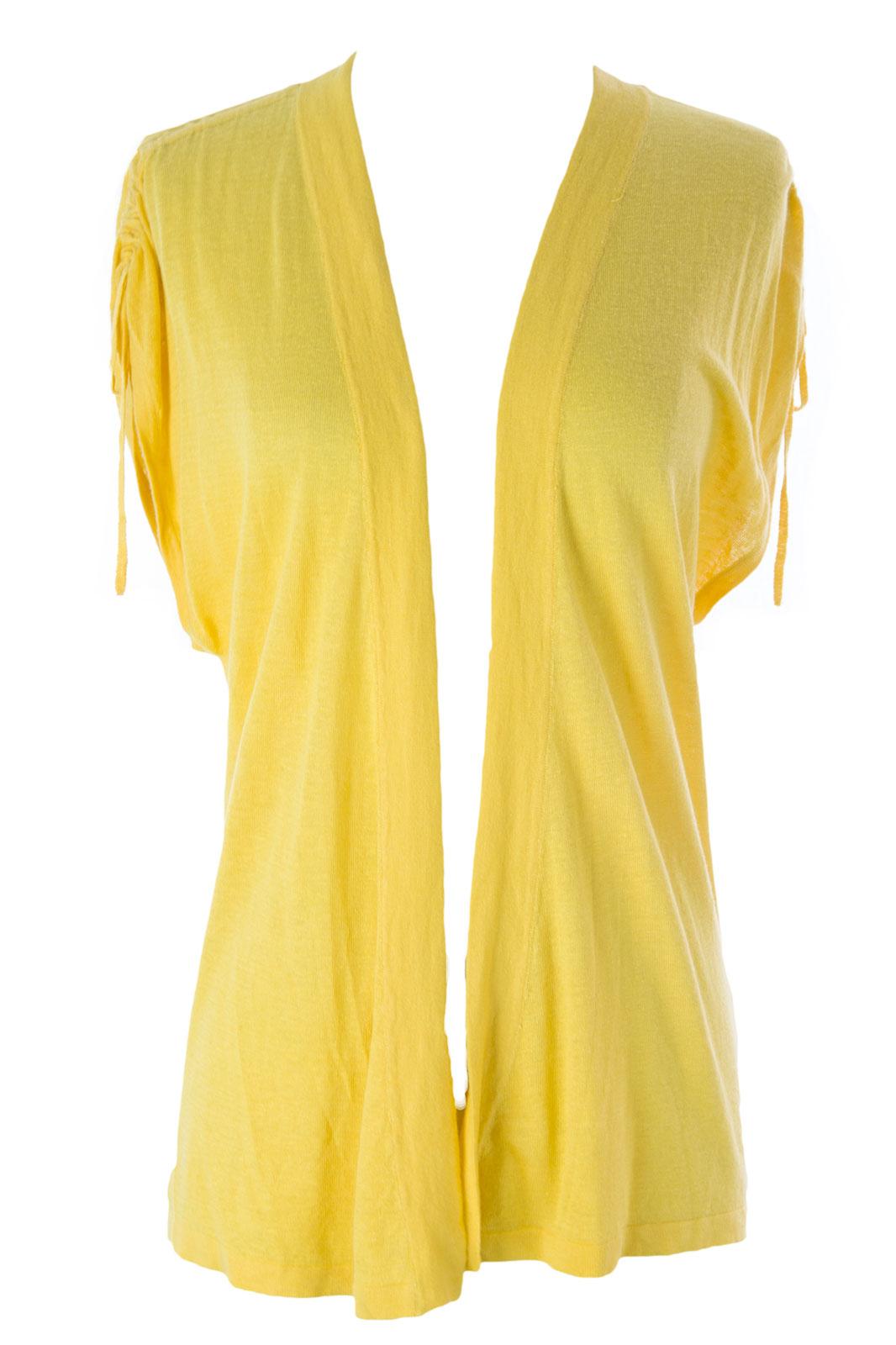 August Silk Women's Petite Ruched Tie String Flyaway Cardigan PM ...