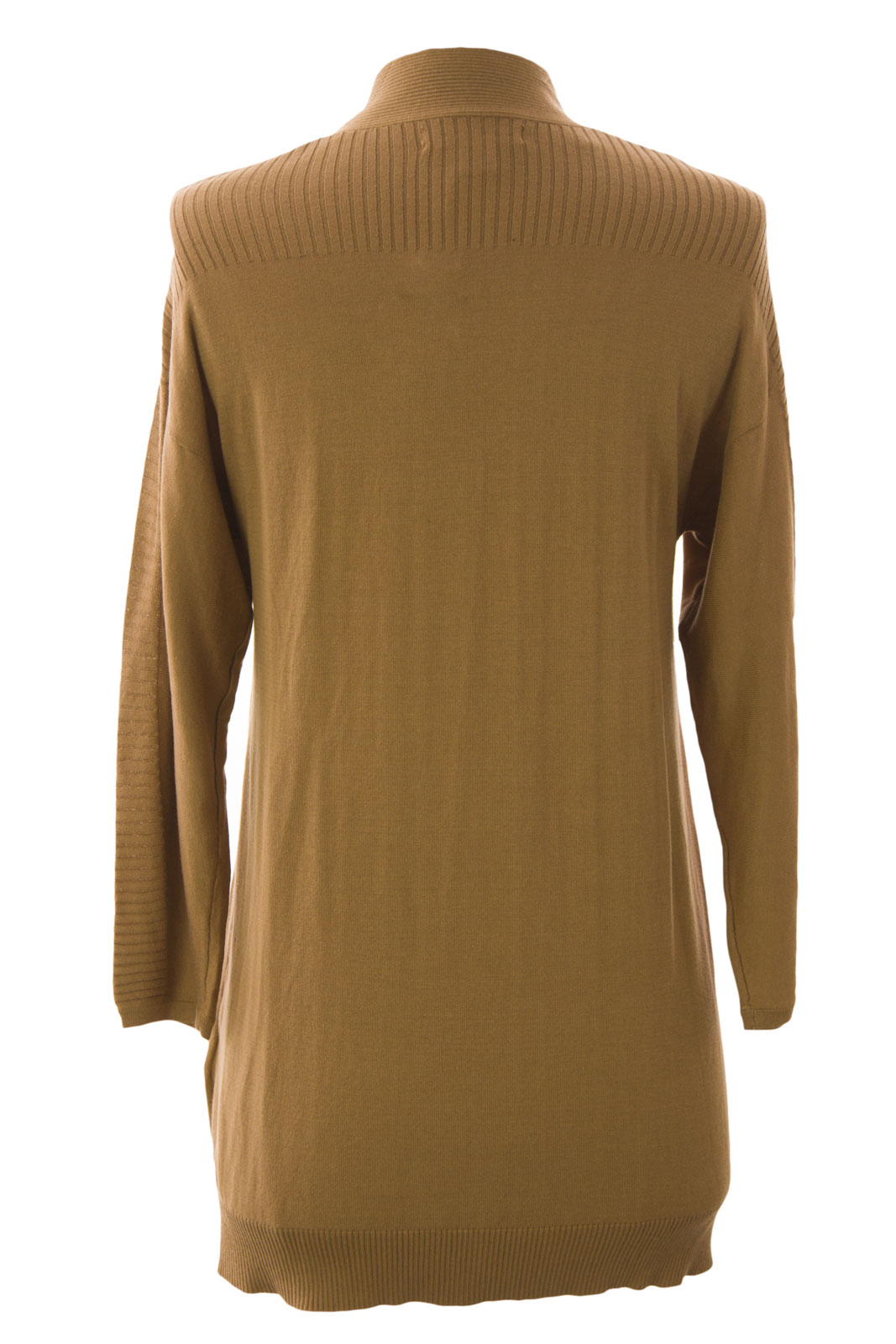 August Silk Women's Rib Trim Flyaway Cardigan S Noble Khaki | eBay