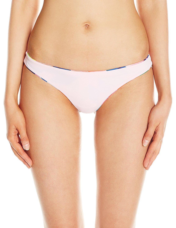 MARA HOFFMAN Reversible Seamless Low Rise Bikini Bottoms 91730 NEW
