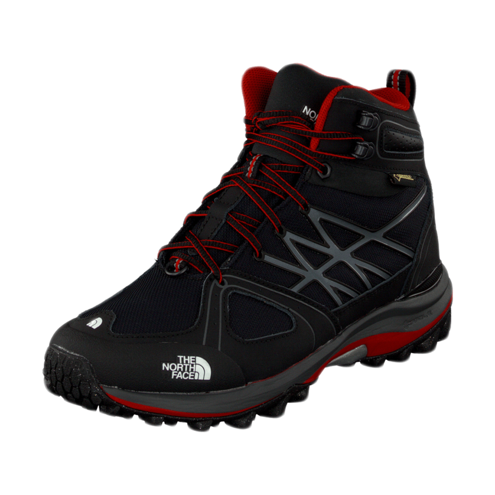 4954fb372 Details about The North Face Men's TNF Black/TNF Red Ultra Extreme GTX  Hiking Boots NEW