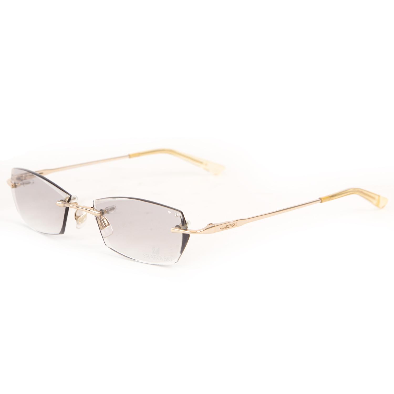Acento de Cristal para Mujer Swarovski Teñido Lente De Gafas de sol ...