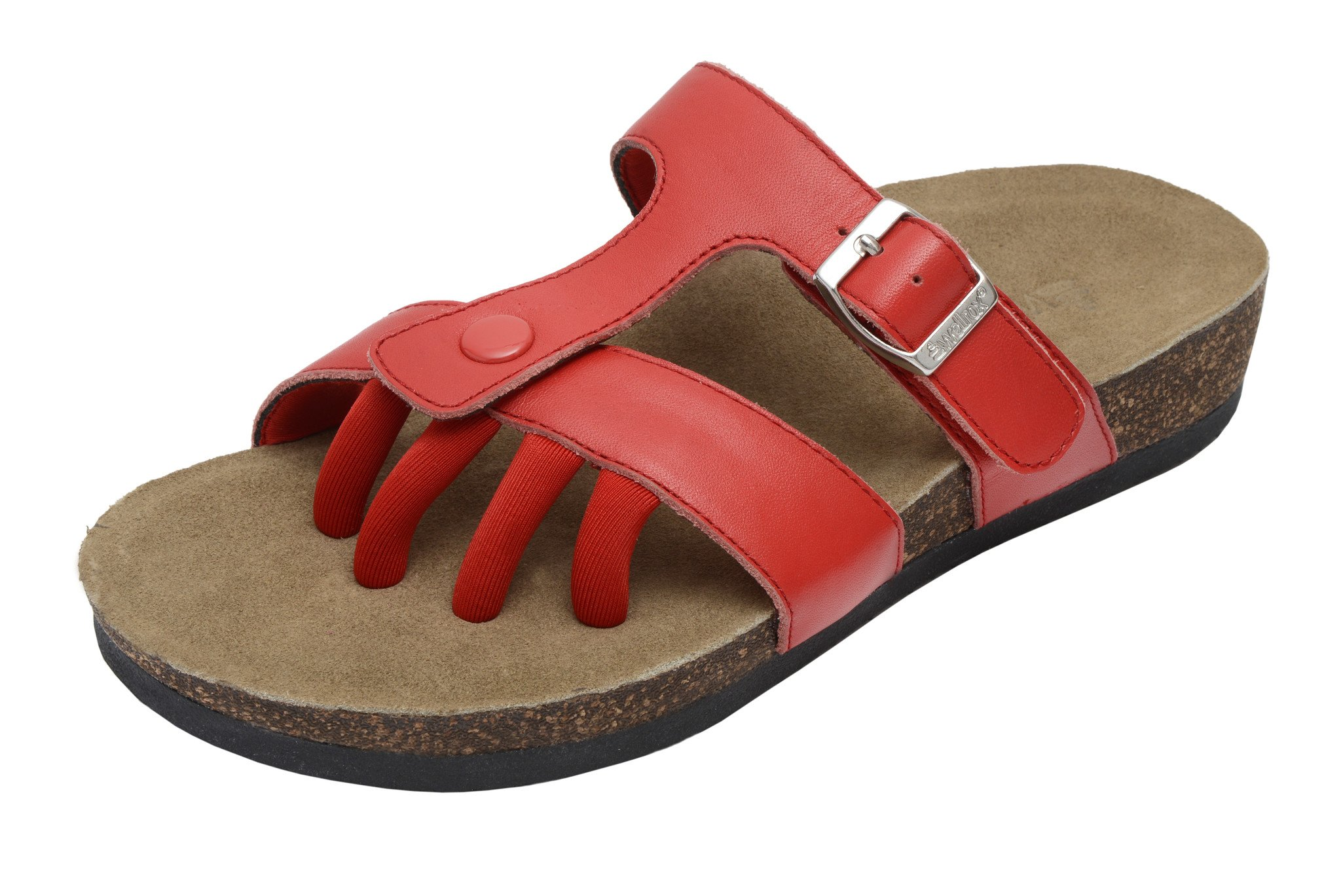 WELLROX Women's Santa Fe Sedona Toe-Separator Wellness Sandals $89.99 NEW;  Picture 2 of 2