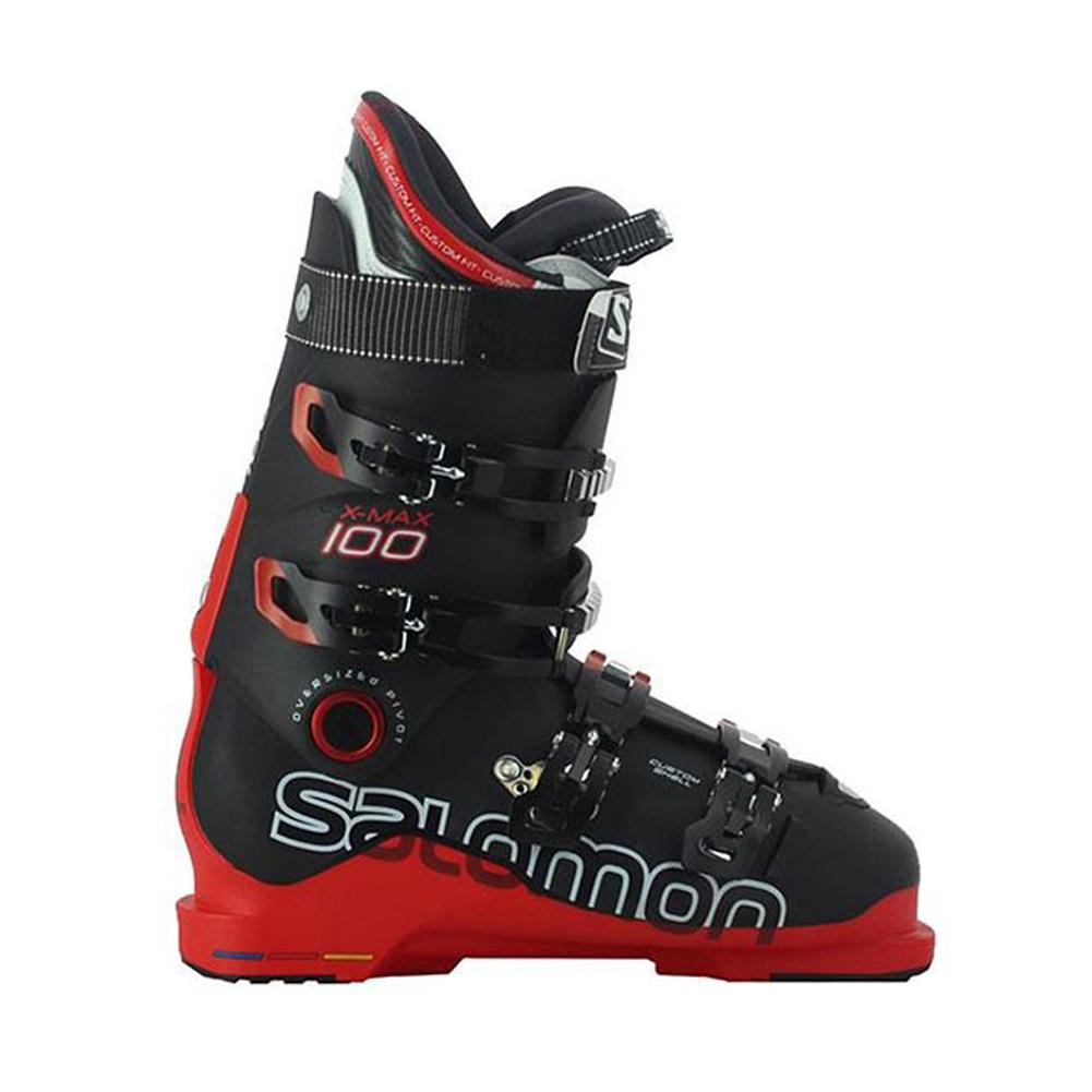 SALOMON 2014 Men/'s X Max 100 Black /& Red Ski Boots $600 NEW